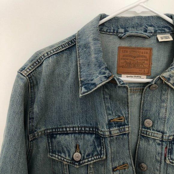 Levi's Ex Boyfriend Trucker Jacket (L)